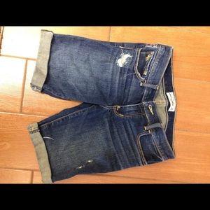 Abercrombie kids Jean shorts size 16